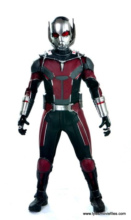 hot toys captain america civil war ant-man figure review -front view