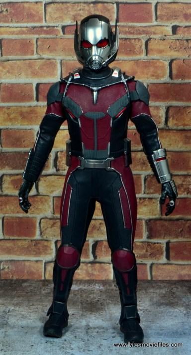 hot toys captain america civil war ant-man figure review - front