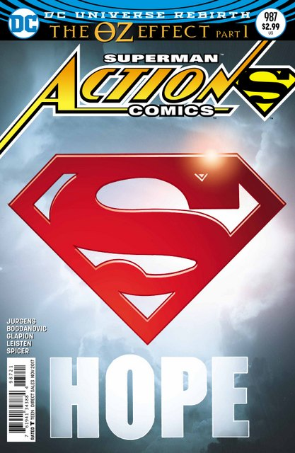 Action Comics #987 cover