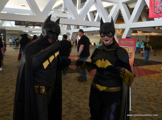Baltimore Comic Con 2017 cosplay - Batman and Batgirl