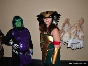 Baltimore Comic Con 2017 cosplay -Beast Girl and Hawkgirl