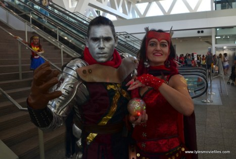 Baltimore Comic Con 2017 cosplay - Colossus and Scarlet Witch