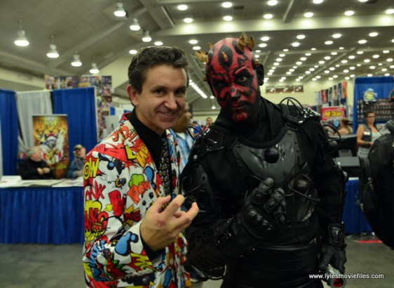 Baltimore Comic Con 2017 cosplay - Darth Maul and