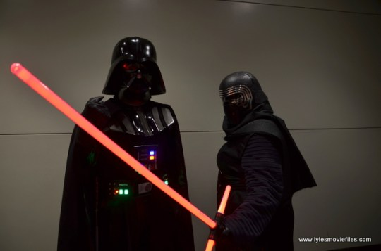 Baltimore Comic Con 2017 cosplay - Darth Vader and Kylo Ren
