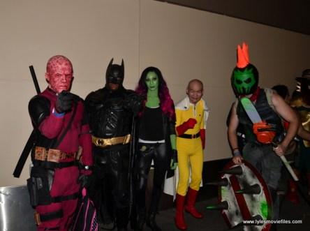 Baltimore Comic Con 2017 cosplay - Deadpool, Batman, Gamora, One Punch Man and