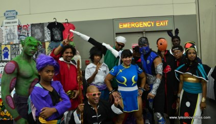 Baltimore Comic Con 2017 cosplay - Dragon Ball, Street Fighter and Mortal Kombat mash up