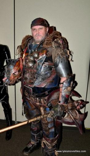 Baltimore Comic Con 2017 cosplay - Gears of War Deathstroke the Terminator