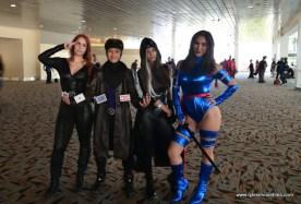Baltimore Comic Con 2017 cosplay - Jean Grey, Gambit, Rogue and Psylocke