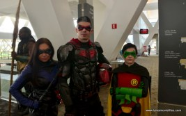 Baltimore Comic Con 2017 cosplay -Nightwing, Red Hood and Robin