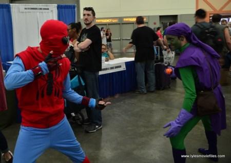Baltimore Comic Con 2017 cosplay - Spider-Man Homecoming vs Green Goblin
