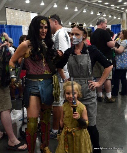 Baltimore Comic Con 2017 cosplay - Wonder Woman, Diana and Dr. Maru