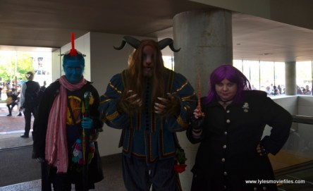 Baltimore Comic Con 2017 cosplay - Yondu Mary Poppins, Beast and