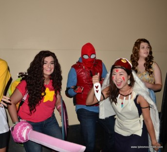 Baltimore Comic Con 2017 cosplay - costume contest Spider-Man Homecoming, Princess Mononoke