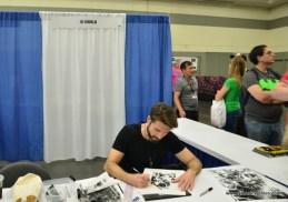 Baltimore Comic Con 2017 - creators showcase - Lee Bermejo
