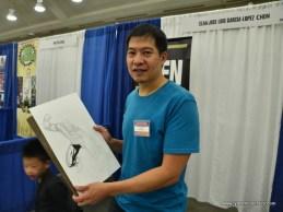 Baltimore Comic Con 2017 - creators showcase - Sean Chen