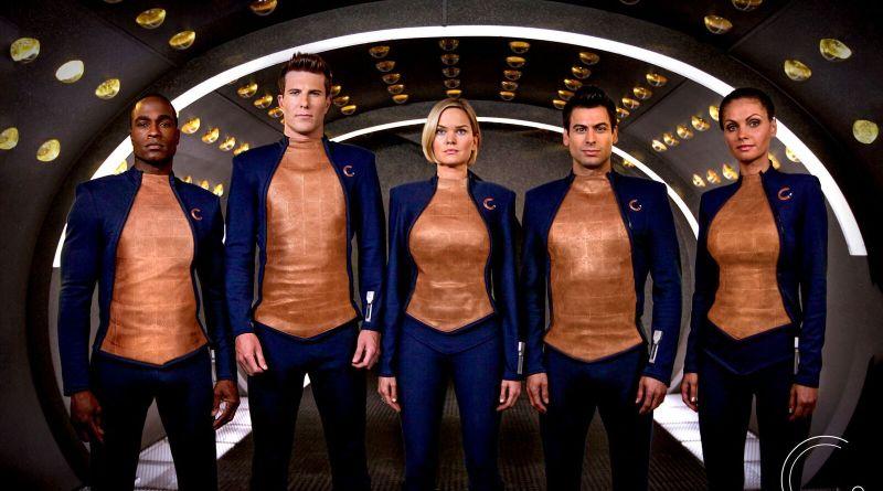 Beyond the Trek review - Teleios crew in uniform