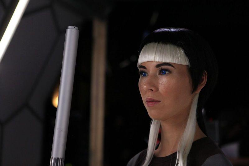 Beyond the Trek review - Ursula Mills as Lulu AH-320