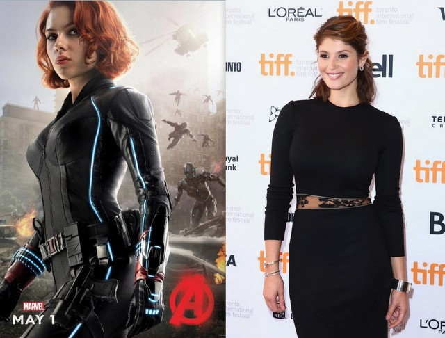 Black Widow - Gemma Arterton for Scarlett Johansson
