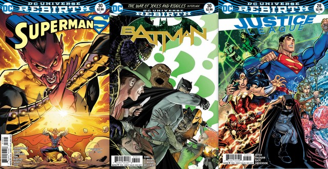 DC Comic reviews for the week of 9/6/17