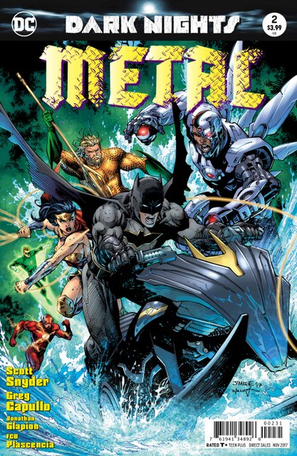 Dark Night Metal #2 Jim Lee cover