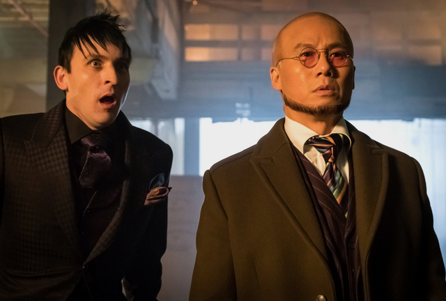 Gotham-Destiny-Calling-review-Penguin-and-Hugo-Strange