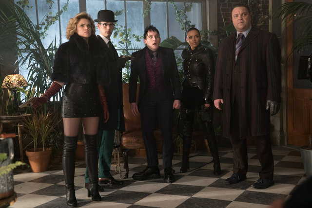 Gotham Pretty Hate Machine review - Barbara, Riddler, Penguin, Tabitha and Butch