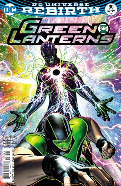 Green Lanterns #30 variant cover