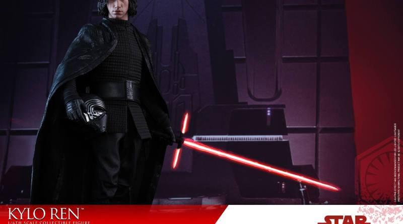 Hot Toys The Last Jedi Kylo Ren -main pic