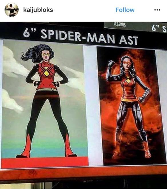 Marvel Legends Spider Woman