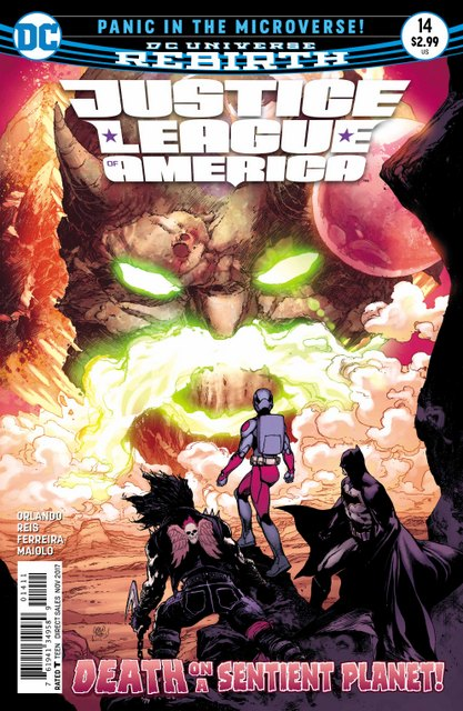 Justice League of America #14 cover