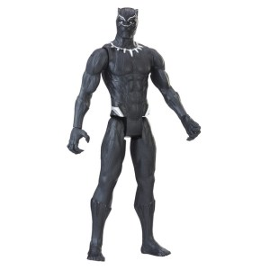 MARVEL BLACK PANTHER 12-INCH TITAN HERO Figure Assortment (Black Panther) - oop