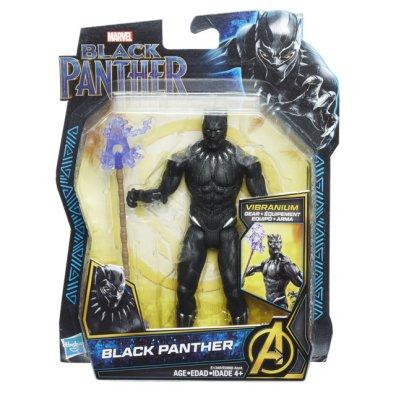 MARVEL BLACK PANTHER 6-INCH Figure Assortment (Black Panther) - in pkg