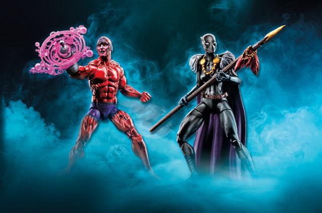Marvel Legends Klaw and Shuri - TRU Exclusive