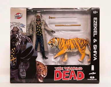 NYCC 2017 McFarlane Toys - The Walking Dead Ezekiel and Shiva package