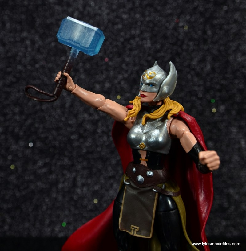 SDCC 2017 Marvel Legends Battle for Asgard figure review - Thor raising Mjlonir