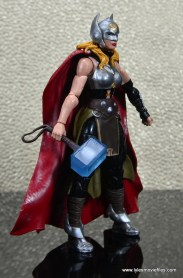 SDCC 2017 Marvel Legends Battle for Asgard figure review - Thor right side