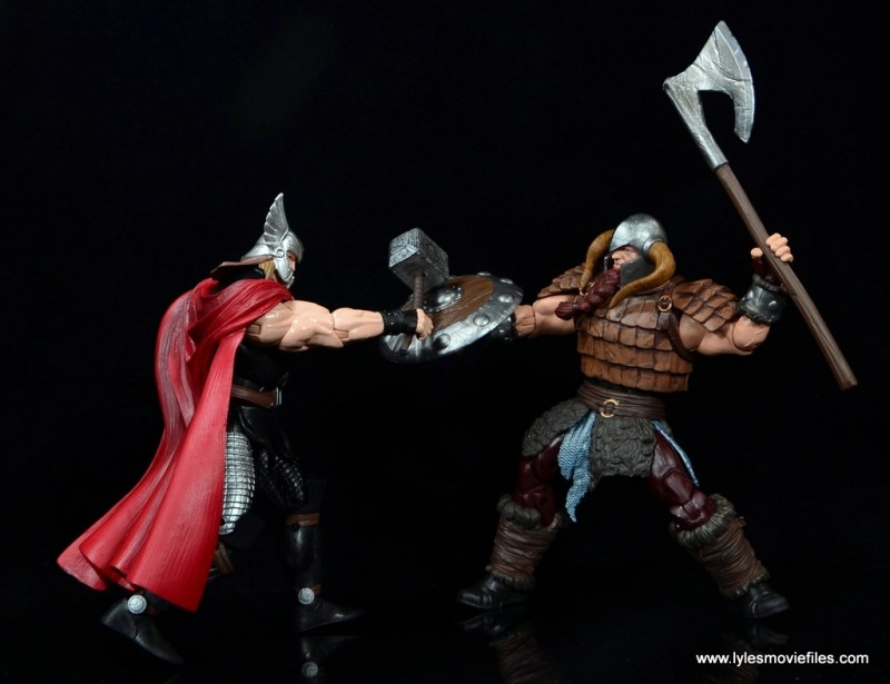 SDCC 2017 Marvel Legends Battle for Asgard figure review - fighting Thor