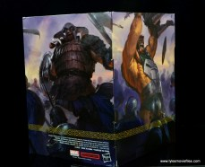 SDCC 2017 Marvel Legends Battle for Asgard figure review - package Bor and Ulike side