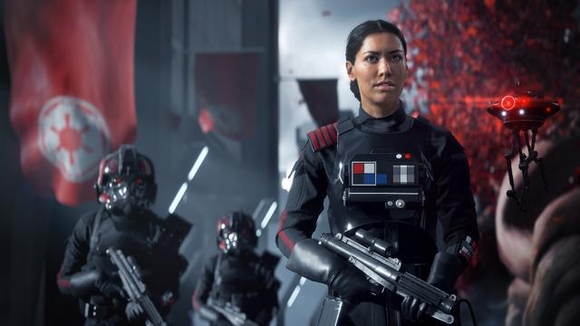 Star Wars Battlefront II Commander Iden Versio
