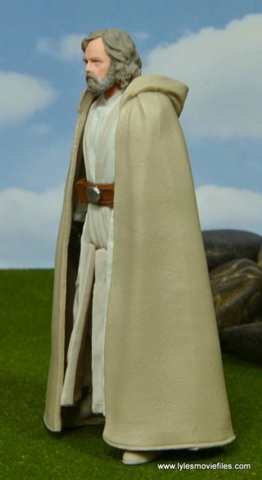 Star Wars The Last Jedi Master Luke Skywalker figure review -left side