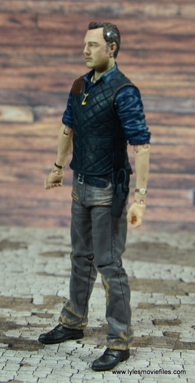 The Walking Dead The Governor TV Series figure review -left side