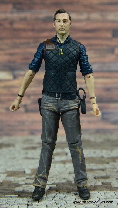 The Walking Dead The Governor TV Series figure review -straight