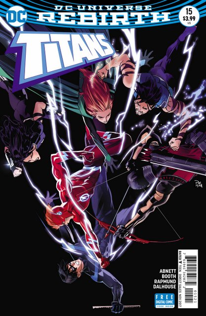Titans #15 variant cover