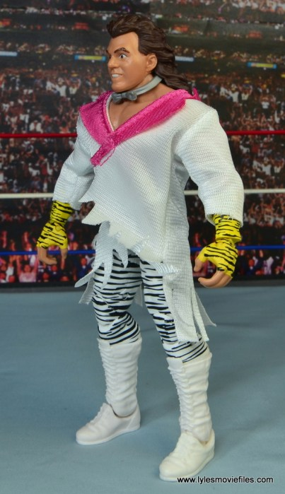 WWE Elite Brutus The Barber Beefcake figure review -left side