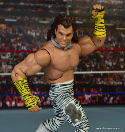 WWE Elite Brutus The Barber Beefcake figure review - posing