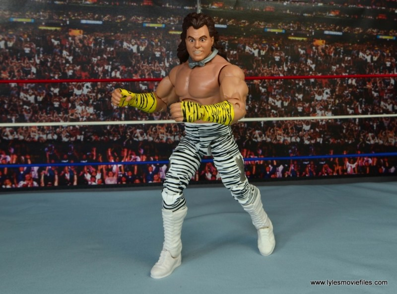 WWE Elite Brutus The Barber Beefcake figure review - struttin and cuttin
