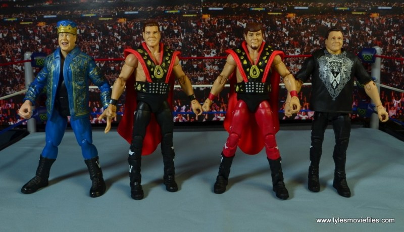WWE Hall of Fame Jerry The King Lawler figure review -with Jakks, Elite 19 and modern Lawler figures