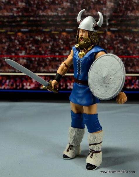 WWE The Berzerker figure review -left side