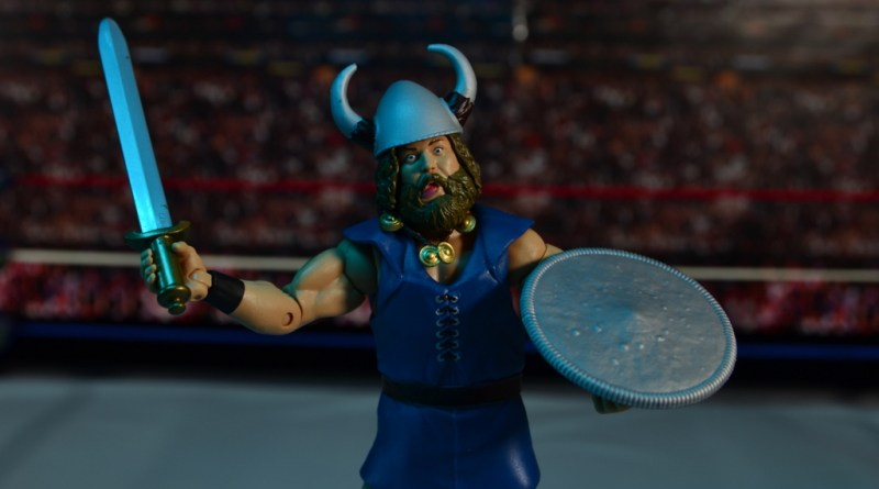 WWE The Berzerker figure review -main pic