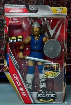WWE The Berzerker figure review -package front